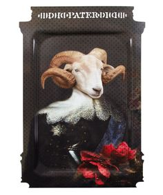 El Querido Goat Father Tray, Ibride. Shop the Ibride collection at Liberty.co.uk