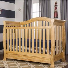 The Dream On Me Addison is a elegantly designed yet exceptionally functional convertible crib. This crib can grow right alongside your baby. When baby out grows the crib it easily converts to a toddler bed with an added safety guard rail that is included or daybed (by removing the security rail) to a full-size bed (rails sold separately for full bed), serving your family year after year after year. As an added convenience, a handy storage drawer is located directly beneath the crib to store…