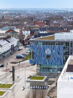Doncaster Civic Office, Doncaster, South Yorkshire, UK - Cartwright Pickard Architects #colour