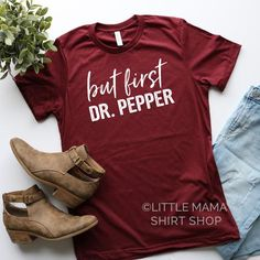 The entire collection of Little Mama shirts, all in one place. Vinyl Shirts, Funny Shirts, Tee Shirts, Custom Shirts, Work Shirts, Idaho, Mama Shirts, Dr Pepper, Looks Style