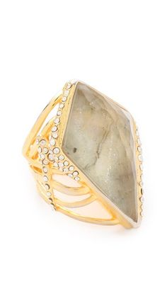 Alexis Bittar New Wave Kite Ring- I love different & unique jewelry and this is both!