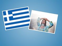 Katerine Duska vertritt Griechenland! Eurovision Song Contest, Polaroid Film, Athens, Greek, Greece