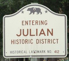 Julian, CA. One of my favorite places to be
