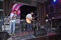 Band playing at HRC