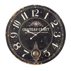 Chateau Canet Clock from Z Gallerie