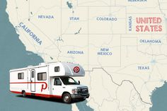 Hit the highway with the #Pinnebago, via the Official Pinterest Blog: On the road to SXSW : ) #Pinterest #SXSW #Pinnebago