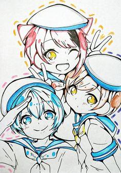 Anime Cupples, Anime Art, Kawaii Chibi, Kawaii Anime, Clear Card, Anime Shows, Sailors, Vocaloid, Neko