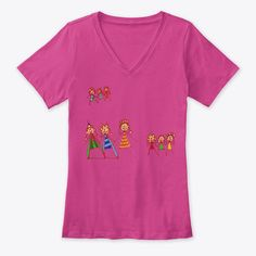 Princesses Dancing Products from Young family | Teespring Young Family, Princesses, Dancing, Kids Outfits, V Neck, Children, Clothes, Tops, Products