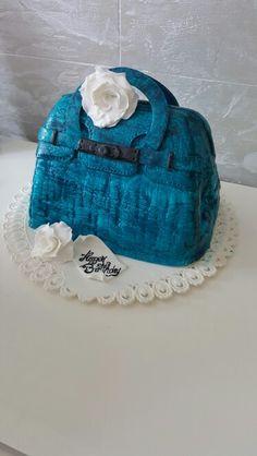 Bag cake Bag Cake, Desserts, Bags, Pies, Tailgate Desserts, Handbags, Deserts, Postres, Dessert