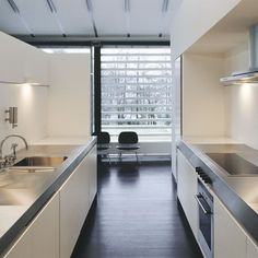 Minimal galley kitchen | Galley kitchens | Kitchen design ideas | PHOTO GALLERY | Beautiful Kitchens | Housetohome.co.uk
