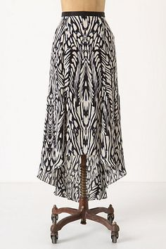 Inked Antonia Skirt #anthropologie..love, love, love & it's on sale!