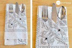 Impress Your Dinner Guests With This Easy and Elegant Napkin Fold - One Good Thing by JilleePinterestFacebookPinterestFacebookPrintFriendlyPinterestFacebook