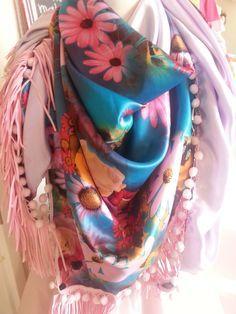 DiY Triangel sjaal naaien
