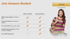 Join Prime Student FREE Two-Day Shipping for College Students          http://amzn.to/28UTl35