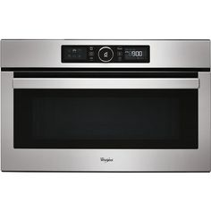 """Built-In Microwave & Grill Sense """"The Whirlpool AMW 730 IX Absolute Built-In Microwave in Stainless Steel has power and capacity. With 8 different power levels to offer you precision control Microwave Grill, Built In Microwave, Microwaves For Sale, Micro Onde, Kitchen Appliances, Ovens, Dryers, Cookers, Washers"""