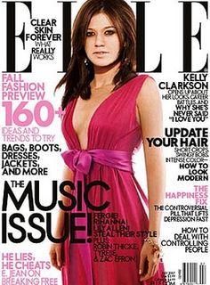 Kelly Clarkson on Elle