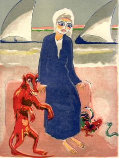 One Thousand and One Nights by Kees van Dongen (Dutch, 1877-1968)