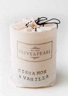 Cinnamon & Vanilla - O L I V E & P E A R L
