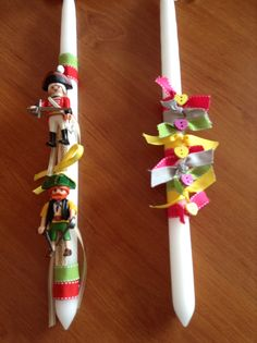 Easter Projects, Easter Crafts, Diy And Crafts, Crafts For Kids, Greek Crafts, Easter Candle, Palm Sunday, Holiday Time, Pta