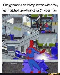 Charger mains on Moray Towers when they get matched up with another Charger main - iFunny :) Splatoon Memes, Splatoon Comics, Splat Tim, Vibe Video, Gaming Memes, Super Smash Bros, Best Games, Popular Memes, Funny Images