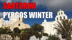 Santorini Pyrgos winter 2017 Santorini 2017, Winter 2017, Taj Mahal, World, Building, Youtube, Travel, Viajes, Buildings