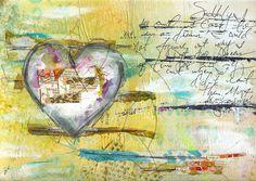 Suddenly Art Journal Page by @robenmarie #art #artjournal #journaling