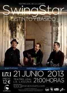 SwingStar ofrecerá un concierto a tres voces y guitarra acústica en La Laguna - http://canariasday.es/?p=55878