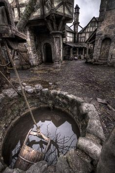 Hansel & Gretel: Witch Hunters - Augsburg  Abandoned film set near Berlin.