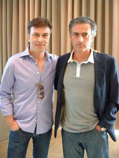 Tony Carreira com José Mourinho