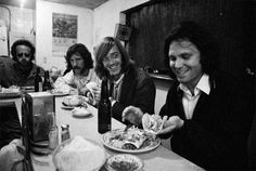 The Doors at the Lucky U Cafe, Santa Monica; captured by Henry Diltz (1969)