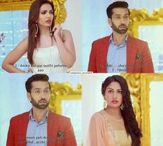 She looks beautiful #shivika #shitia #ishqbaaazquotes #ishqbaaaz