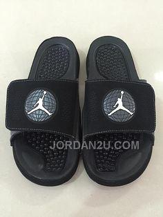 8f9af097885ec Find 2016 Mens Jordan Hydro 9 Slide Sandals Black White Authentic online or  in Pumaslides. Shop Top Brands and the latest styles 2016 Mens Jordan Hydro  9 ...