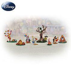 Winnie The Pooh Halloween Village Accessory Set