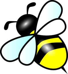 Bee clipart 2 bumble bee clip art free 5 all rights clipartcow 3 Child Draw, Bee Template, Templates, Cliparts Free, Bee Stencil, Stencils, Bee Clipart, Bee Pictures, Bee Drawing