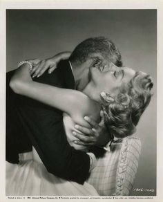 Lana Turner and Jeff Chandler
