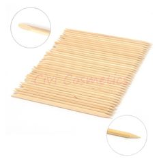 5 set/lot Free shipping! 100X Nail Art Orange Wood Stick Cuticle Pusher Remover