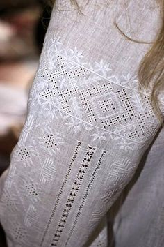 White Embroidery. Ukrainian embroidery ! shirt