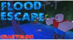 Flood escape 1 6 4 2 a free game by crazyblox roblox updated 4
