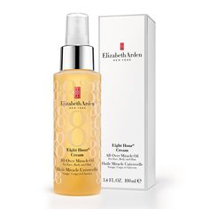 Elizabeth Arden Eight Hour Cream All-Over Miracle Oil, a Luxurious, Head-To-Toe Moisturising and Conditioning Treatment.  Elizabeth Arden Eight Hour Cream All-Over Miracle Oil...