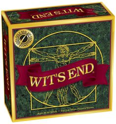 Amazon.com: Wit's End Board Game: Toys & Games