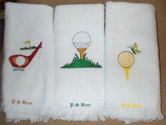 Golf Towels- great gift for someone. www.asap.co.in- Any Surprise Any Place