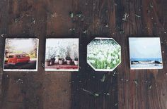 New DIY projects here soon… Photo Coasters, Diy Coasters, Diy Arts And Crafts, Diy Crafts, Diy Foto, Free People Blog, Diy Projects, Crafty, Technology
