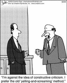 constructive criticism, performance management