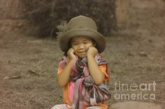 am I cute Melody my little model and granddaughter by Michelle Meenawong