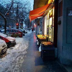 A Karinthy út legbarátságosabb zöldségese.  #hó #tél #budapest #ig_budapest #mik #hungary #winter #snow #city #lights #street Budapest, Outdoor, Instagram, Outdoors, Outdoor Games