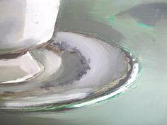 teacup still life oil painting