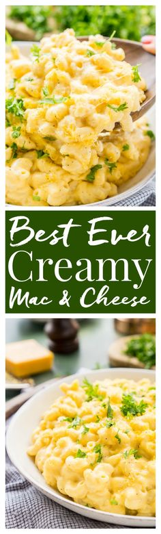 This really is the Best Ever Creamy Mac and Cheese! Made with sharp cheddar and…