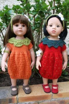 """Tuto robes """"fruitées"""" pour poupée Gotz"""