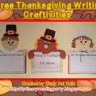 Meet Peter Pilgrim, Patty Pilgrim, and Tommy Turkey!! They are three adorable characters all ready for your students to create for Thanksgiving!...