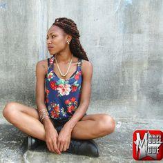 #ModelMode #BrittOnDeck #StoneWall #SideView